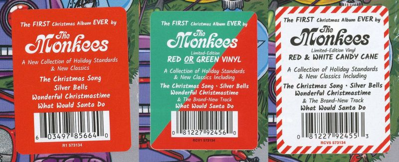 Monkees Christmas Party.Monkees Albums Usa Rhino Christmas Party R1 573134